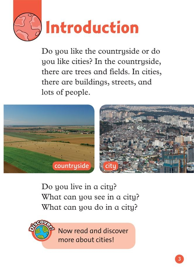 live in city or countryside City or countryside, different places, different ways to live what's better - a project that shows you two different ways to engage a situation without que.